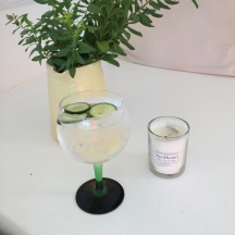 G&Ts on arrival