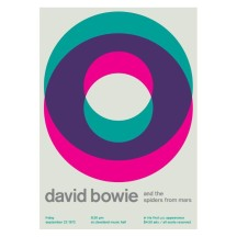 Bowie Graphic Poster, The BALTIC, £50