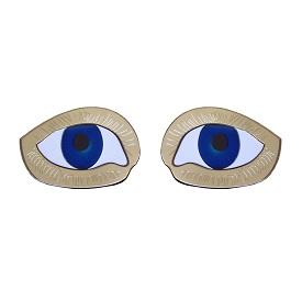 Picasso Eye Earrings, National Portrait Gallery, £30