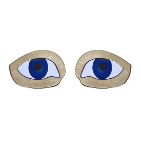 Picasso Eye Earrings, National Portrait Gallery, £30