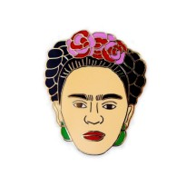 Frida Kahlo Badge, Baltic, £9.95