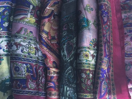 Indian Silk Scarves