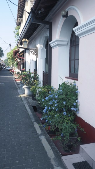Colonial style in Galle