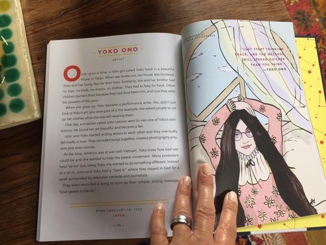 Yoko Ono Rebel Girls