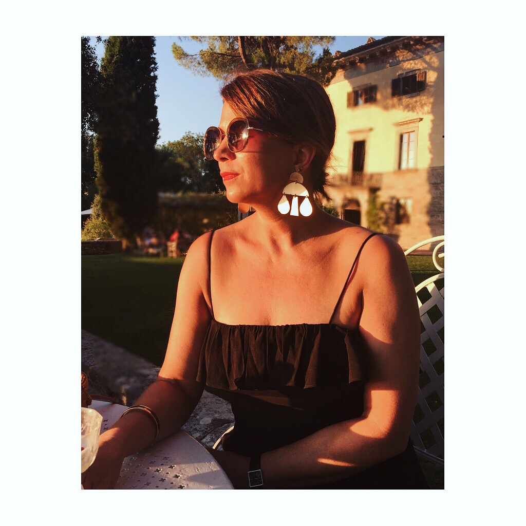 Evening sun at Borgo Pignano