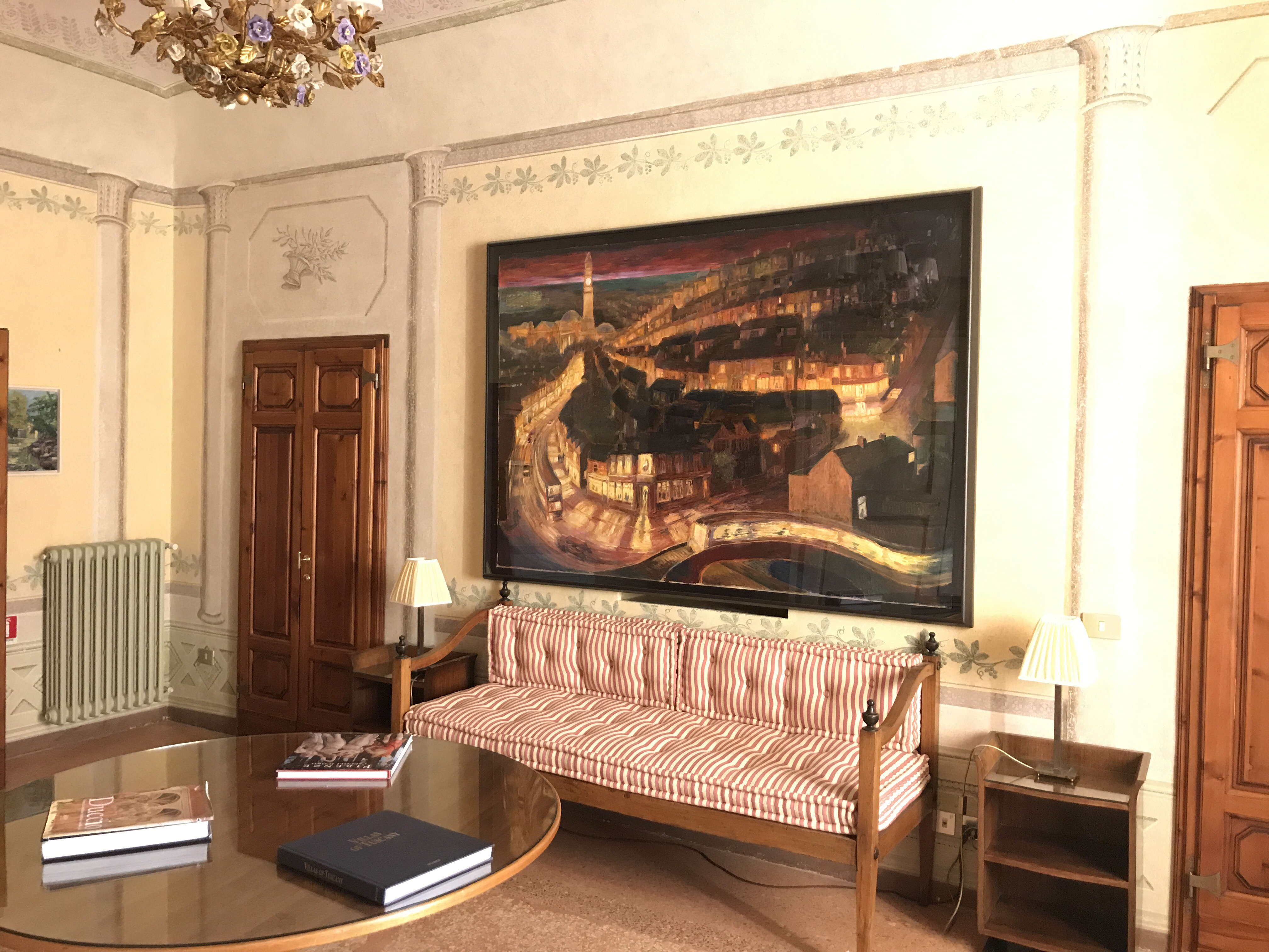Art collection in the main house
