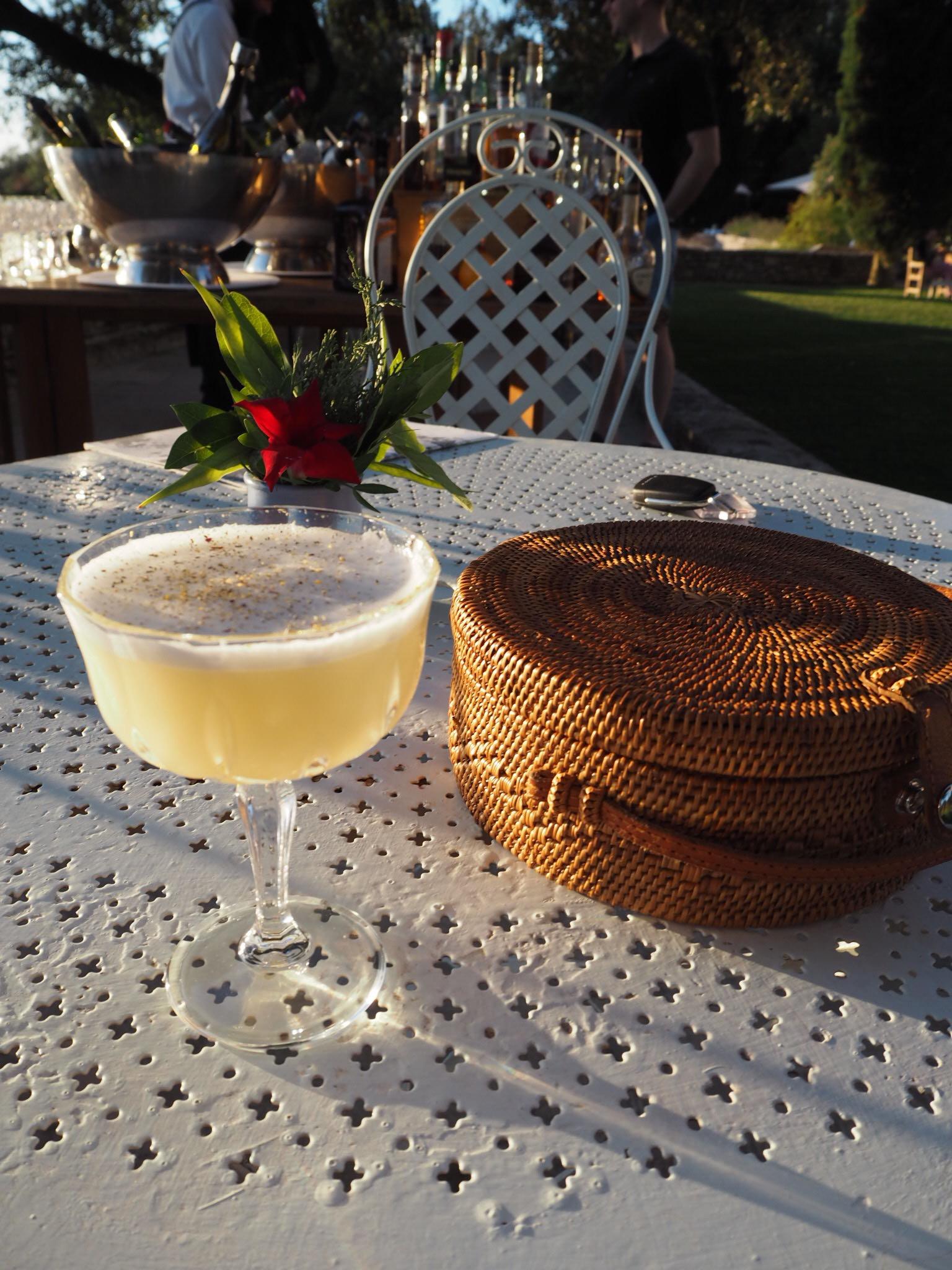 The Mediteranneo cocktail