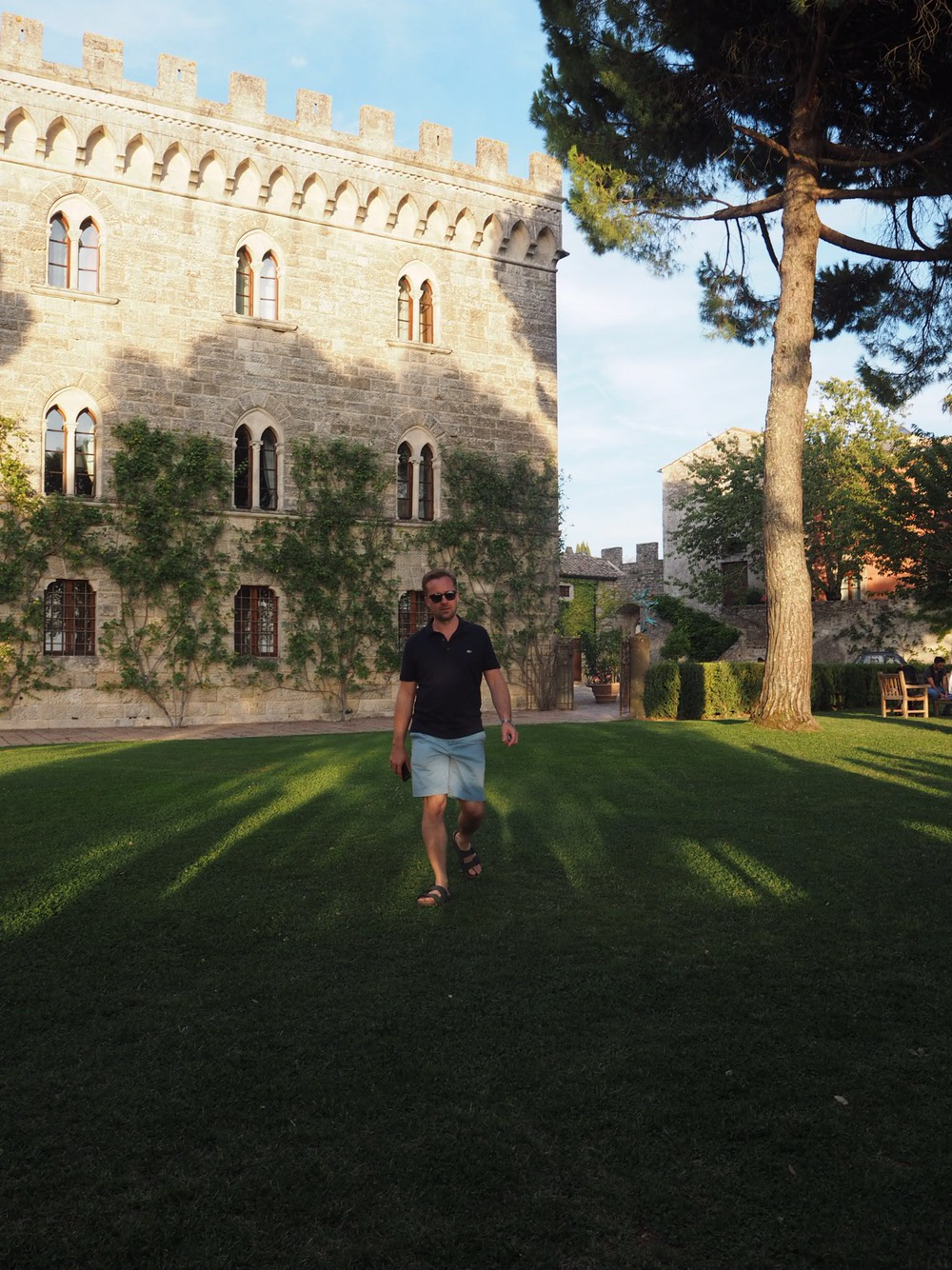 Mr Jones at Borgo Pignano
