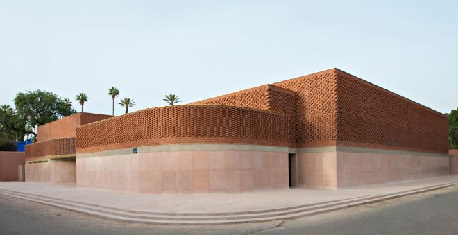 Corner YSL Foundation Jardin Majorelle/ Photo Nicola Mathieus