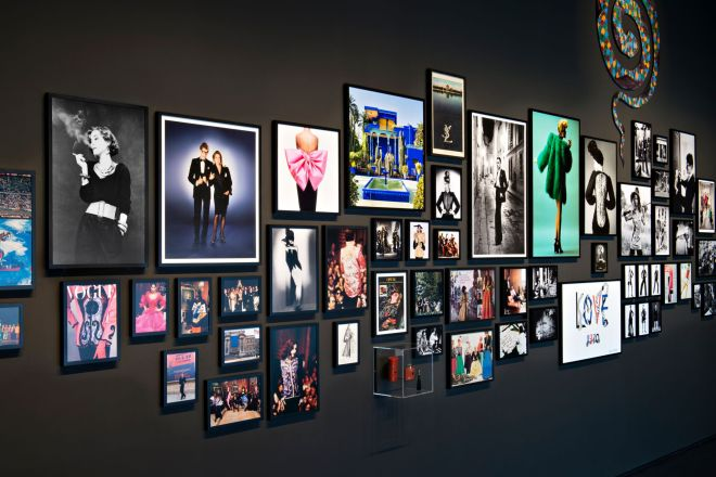 YSL Picture Wall