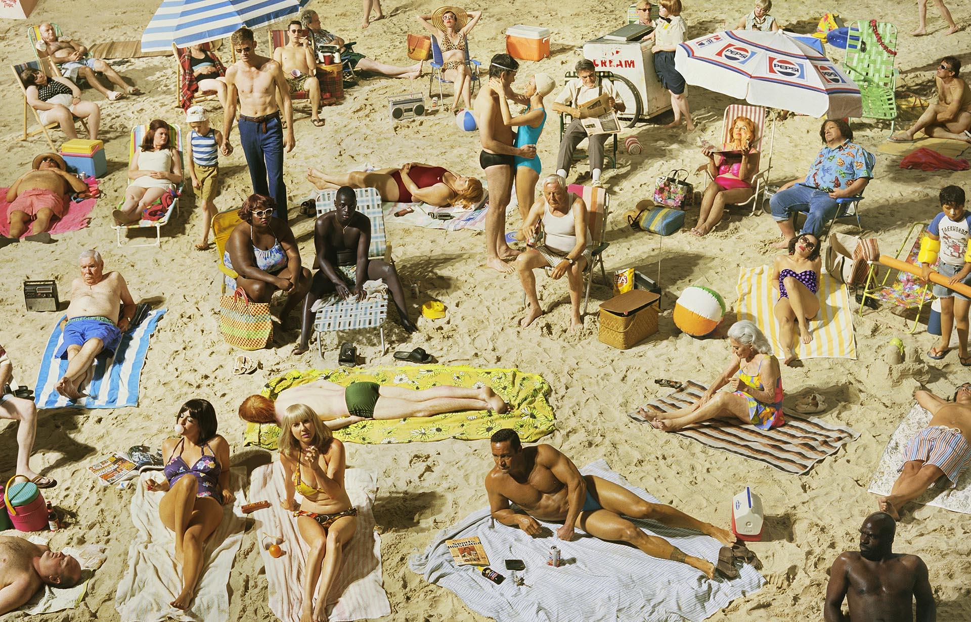 Crowd #3 (Pelican Beach)
