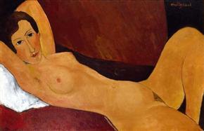 modigliani-reclining-nude-1918