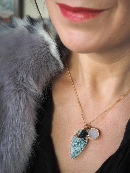 Trippen Emerald Pendant £79