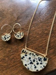 Necklace £42 Earrings £49