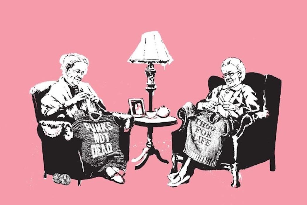 Grannies by Banksy