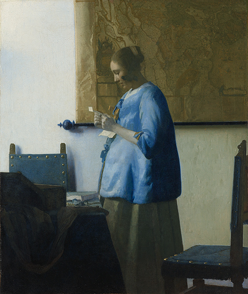 Vermeer Woman in Blue