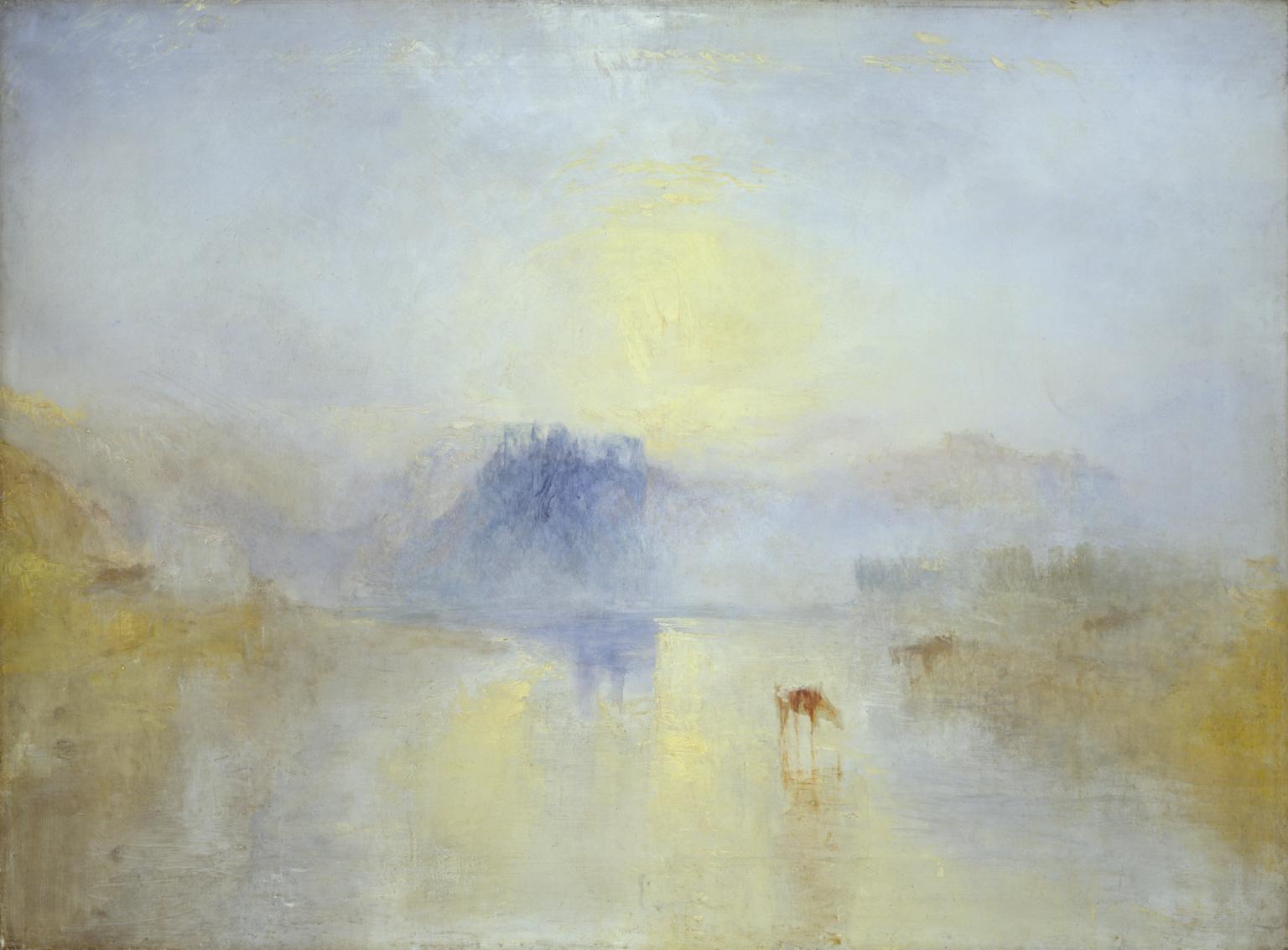 Norham Castle, Sunrise c.1845 by Joseph Mallord William Turner 1775-1851